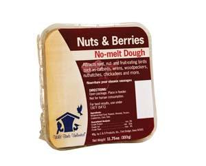 Nuts & Berries No-melt Suet Dough
